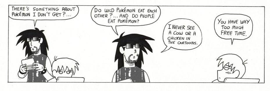 Do pokemon eat each other?