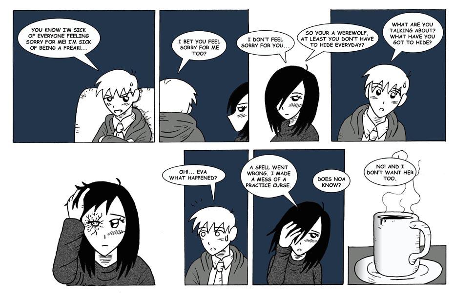 Eva's secret.