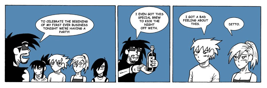 Special brew.
