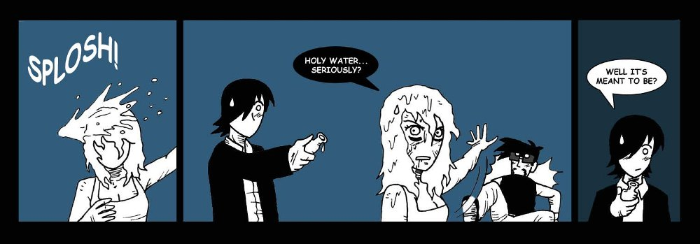 Holy water.