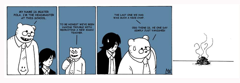 The last teacher.